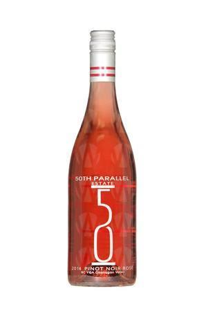 50th Parallel Estate Winery Pinot Noir Rosé