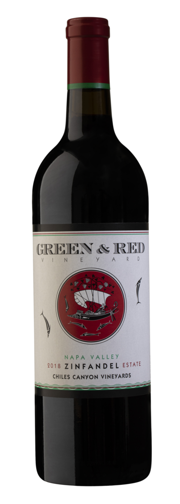Green & Red Vineyard Chiles Canyon Vineyards - Estate Vineyards Bottle Preview