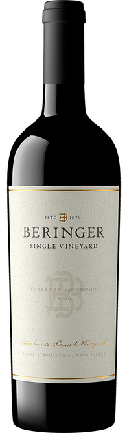 Beringer Vineyards Beringer Steinhauer Ranch Cabernet Sauvignon Napa Valley Bottle Preview