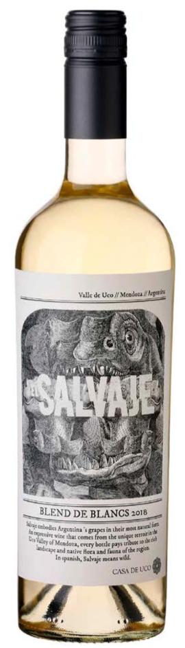 Casa de Uco El Salvaje Blend de Blancs Bottle Preview