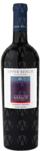 Upper Bench Estate Winery Merlot