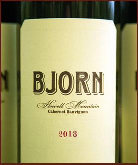 Bjorn Vineyards Bjorn  Cabernet Sauvignon Bottle Preview
