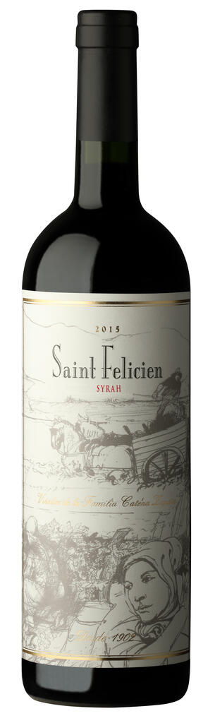 Saint Felicien Syrah Bottle