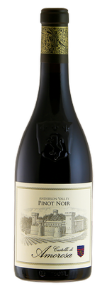 Castello di Amorosa PINOT NOIR, Anderson Valley Bottle Preview