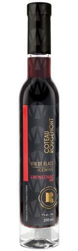 Vignoble Coteau Rougemont Frontenac Noir  Vin de glace
