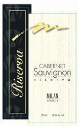 Milan Wineries Cabernet Riserva
