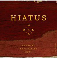 Hiatus Cellars Hiatus Red Bottle Preview