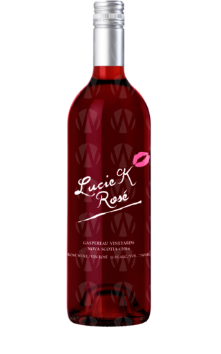 Gaspereau Vineyards Lucie K Rosé