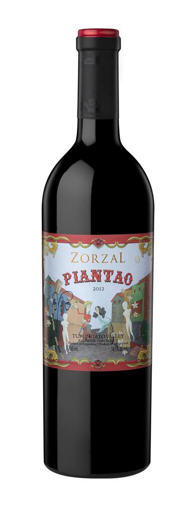 Zorzal Wines Piantao Bottle Preview