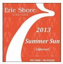 Erie Shore Vineyard Summer Sun Cabernet
