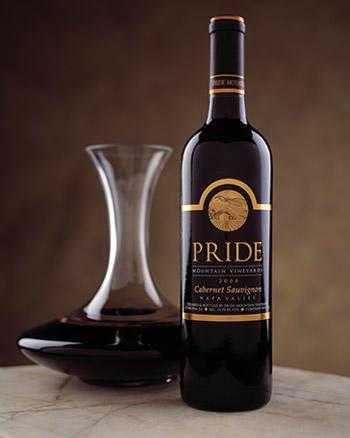 Pride Mountain Vineyards Cabernet Sauvignon Bottle Preview