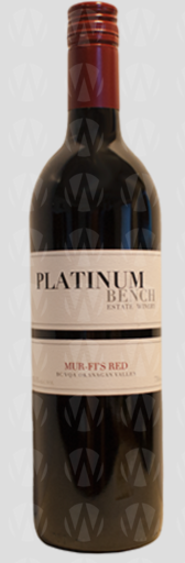 Platinum Bench Estate Winery Mur-Fi's Red