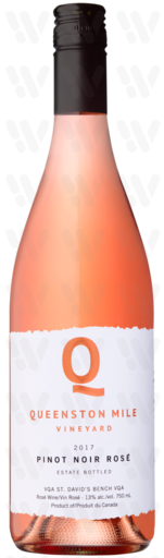 Queenston Mile Pinot Noir Rosé