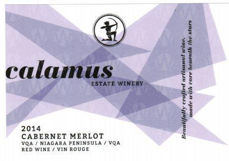 Calamus Estate Winery Cabernet Merlot
