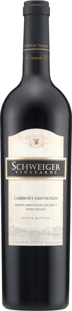 Schweiger Vineyards Cabernet Sauvignon Bottle Preview