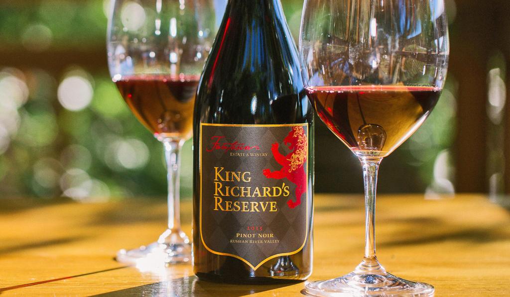 King Richard's Reserve™ Pinot Noir Bottle