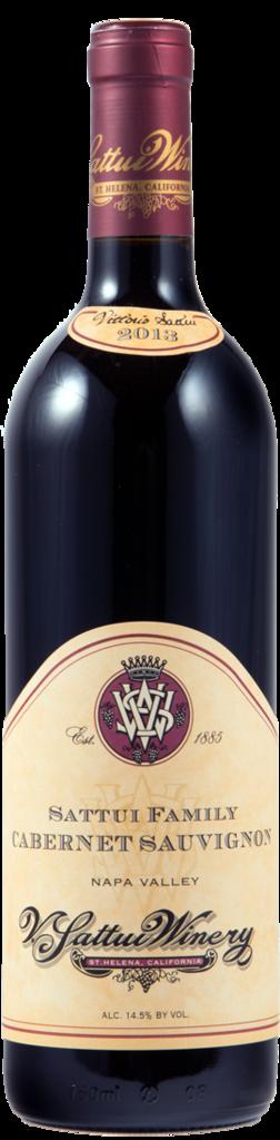 V. Sattui Winery Sattui Family Cabernet Sauvignon Bottle Preview