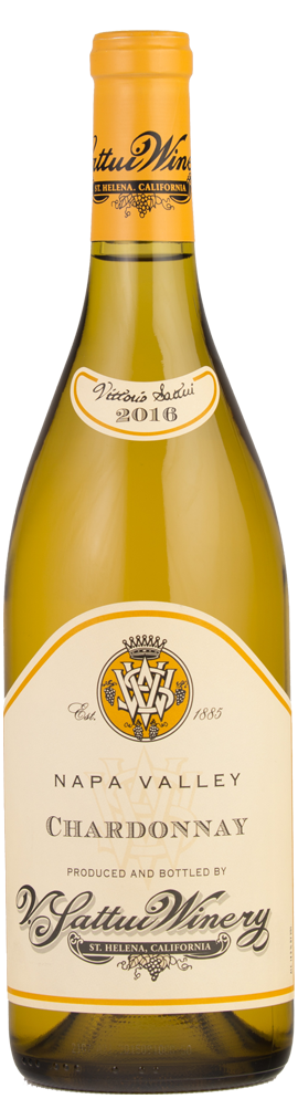 V. Sattui Winery Napa Valley Chardonnay Bottle Preview