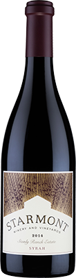 Starmont Winery & Vineyards Syrah, Stanly Ranch Estate Bottle Preview
