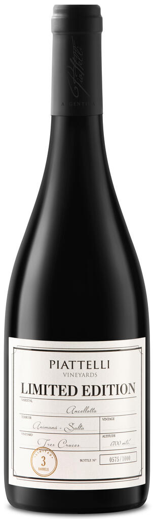 Piattelli Vineyards - Salta Limited Edition Ancellotta Bottle Preview