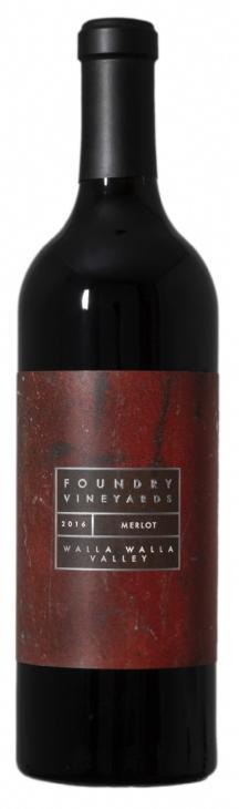 Foundry Vineyards Merlot Bottle Preview