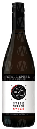 40 Knots Estate Winery Stall Speed Stick Shaker Syrah
